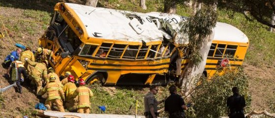 Anaheim Hills school bus crash