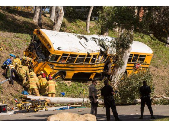 Anaheim Hills school bus crash