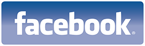 Facebook logo rounded
