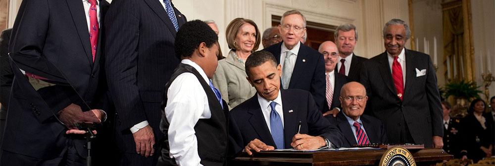 Obamacare signing Supreme Court
