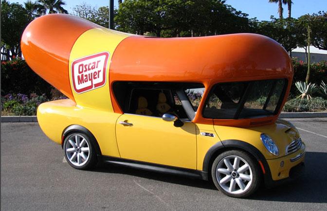 Oscar Mayer MINI Cooper Wienermobile
