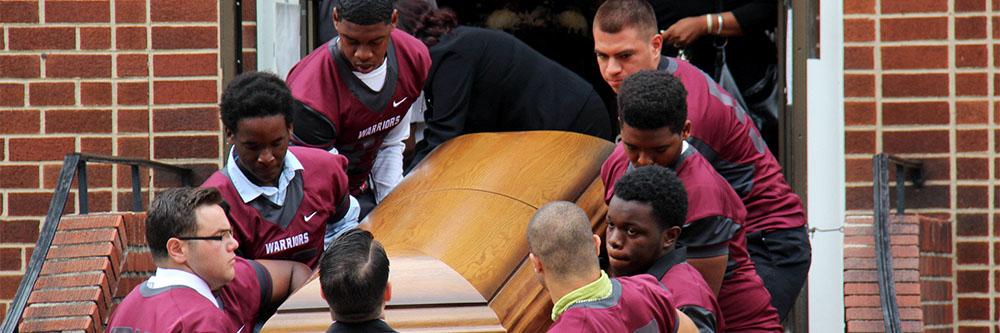 Parents file lawsuit teen football death